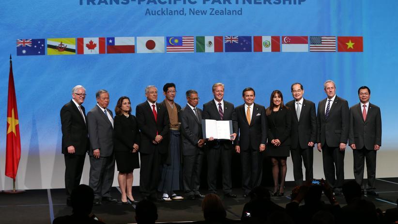 Freihandelsabkommen: Pazifik-Anrainer wollen TPP retten