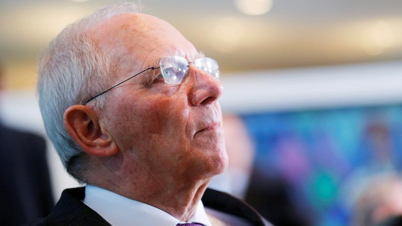 Handel: Finanzminister Wolfgang Schäuble