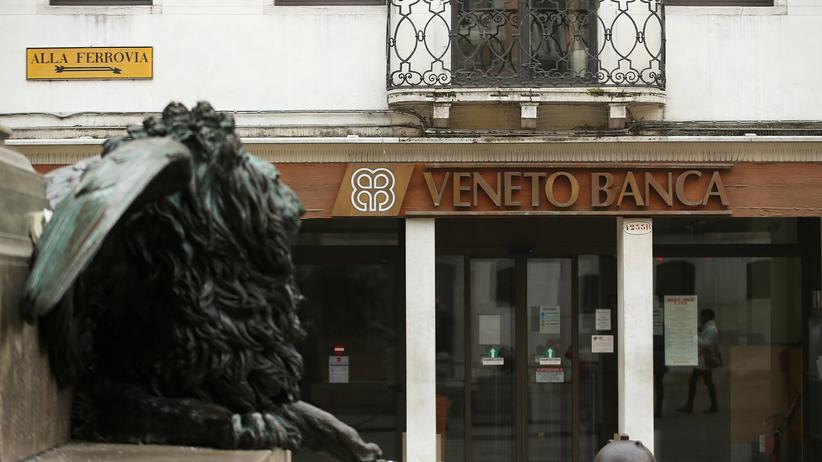 Italien: Die Veneto Banca wurde 1877 gegründet.