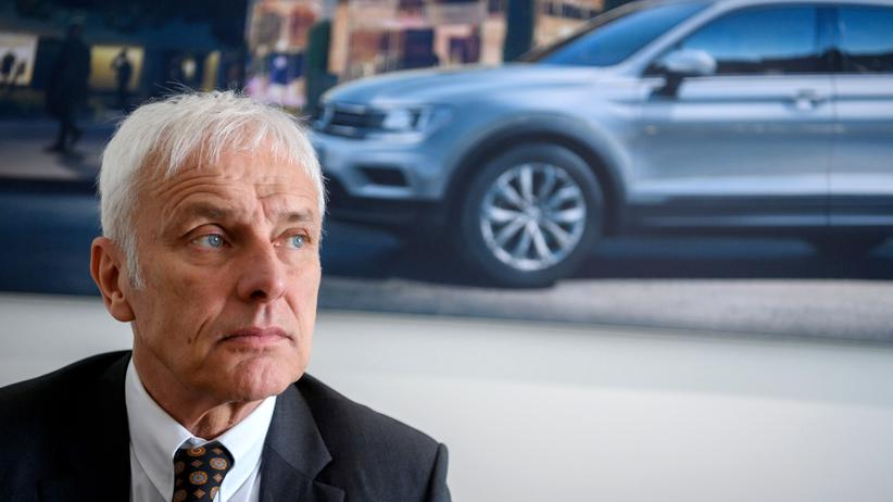Volkswagen: Volkswagen-Chef Matthias Müller
