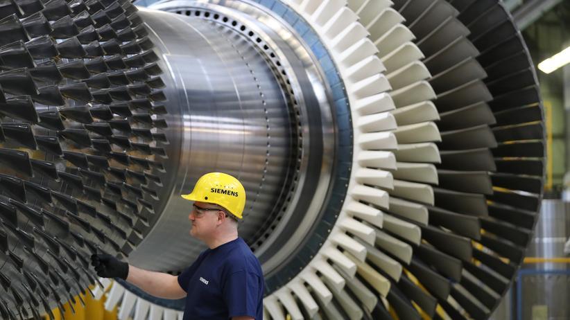 Russland: Siemens will vorerst keine Kraftwerksausrüstung mehr an russische Staatsunternehmen liefern.