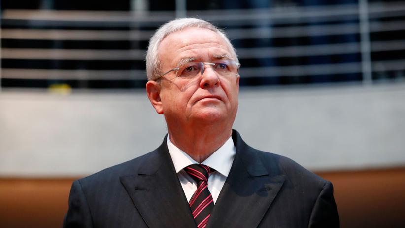 VW-Abgasskandal: Ex-VW-Chef Martin Winterkorn vor dem Untersuchungsausschuss