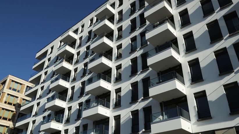 Bundesregierung: Ein Wohnungsneubau in Berlin