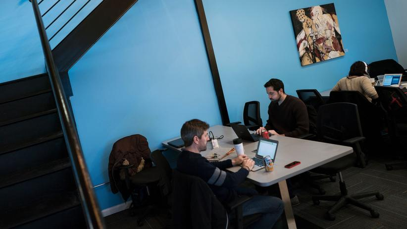 Arbeitsmodelle: Coworking-Space in Washington