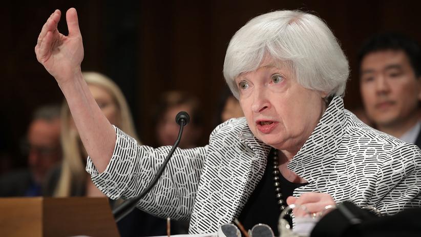 Janet Yellen: Notenbankchefin verteidigt Bankenregulierung
