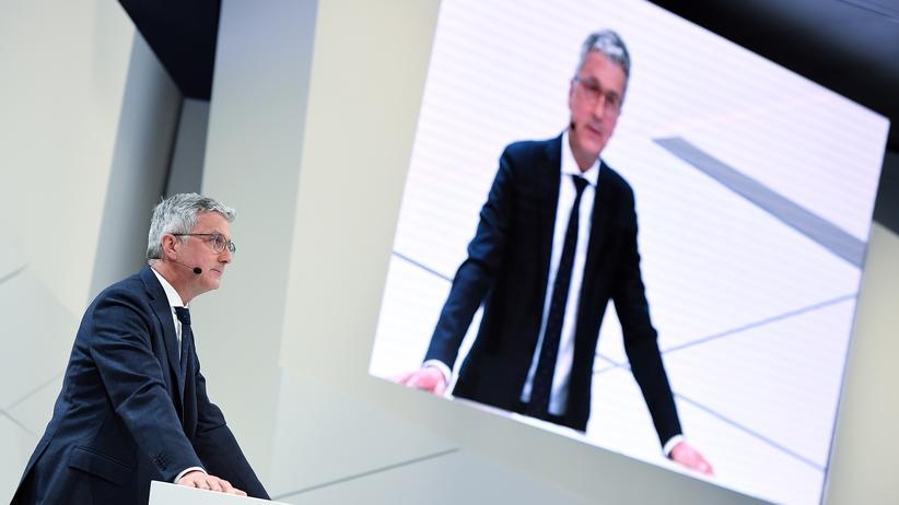 """Audi-Aufsichtsrat: Der Vorstandsvorsitzende Rupert Stadler bleibt weiter im Amt. Er habe sich """"an der Spitze von Audi bewährt"""", sagte Aufsichtsratsmitglied Wolfgang Porsche."""