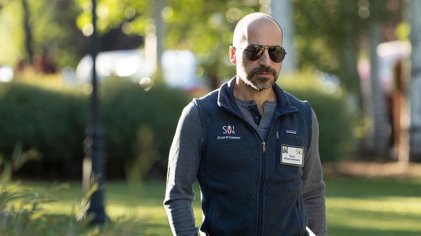 Dara Khosrowshahi wird der neue Travis Kalanick