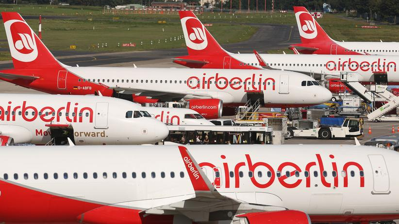 Air-Berlin-Flugzeuge