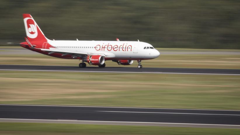 Air Berlin: Am Flughafen Tegel, dem Heimatflughafen von Air Berlin.