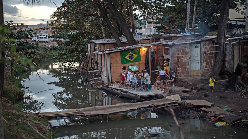 Brasilien: In einer Favela in Rio de Janeiro in Brasilien