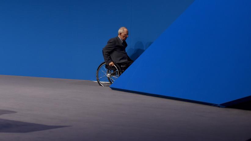 Bundestagspräsident: Wolfgang Schäuble bei einem CDU-Parteitag in Essen