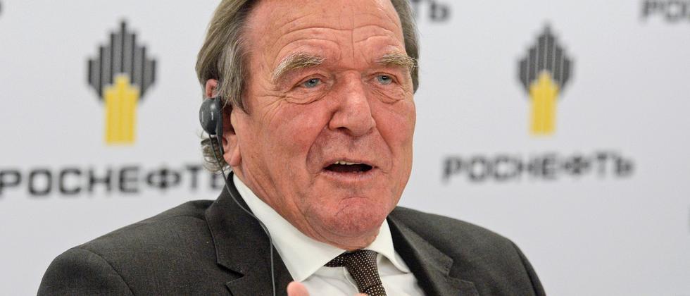 Gerhard Schröder Russland