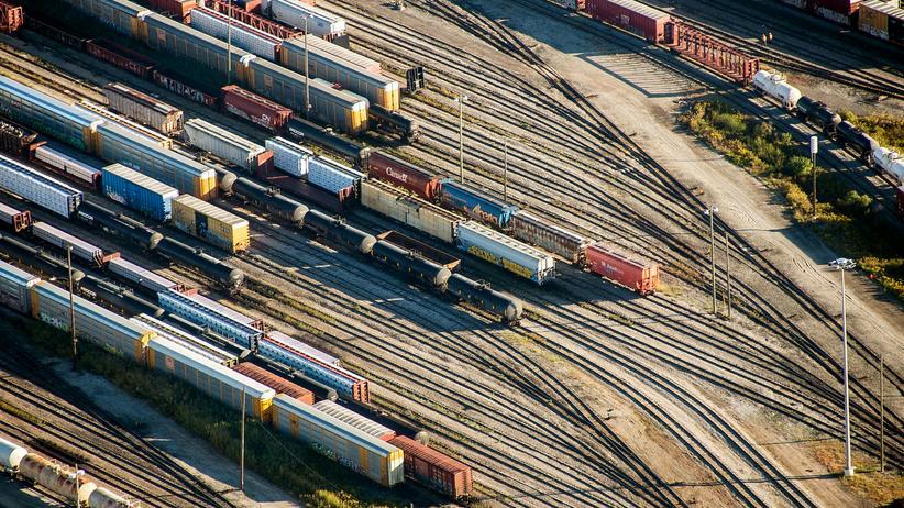 Freihandelsabkommen: Ein Güterbahnhof im kanadischen Toronto