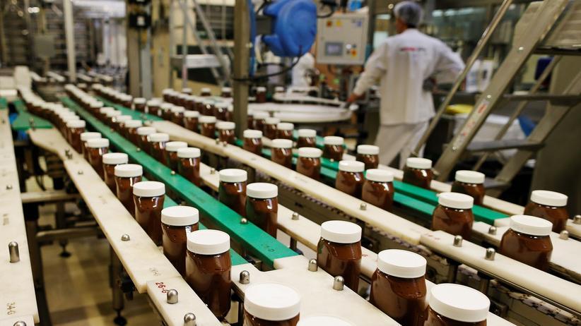 Osteuropa: Produktion von Nutella in Nordfrankreich