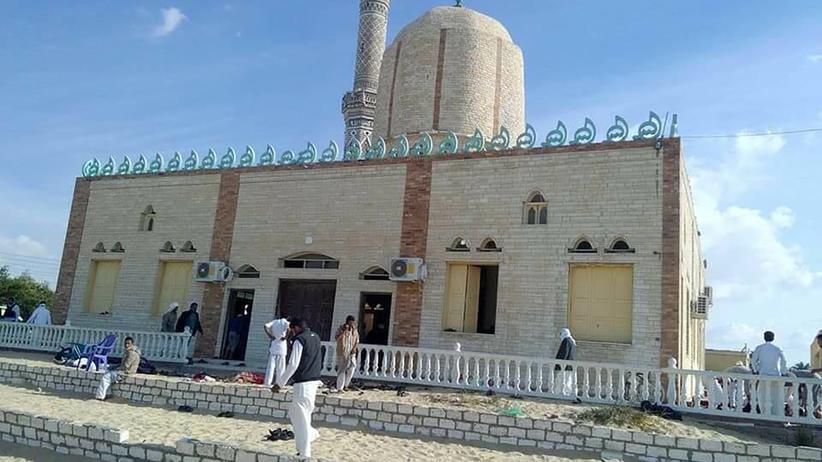 Ägypten: Mehr als 235 Tote bei Anschlag auf Moschee