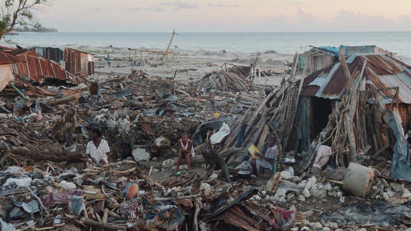 Globaler Klima-Risiko-Index 2018: Haiti wurde 2016 vom stärksten Hurrikan seit über 50 Jahren getroffen. Im globalen Klima-Risiko-Index landet Haiti 2016 auf dem ersten Platz.