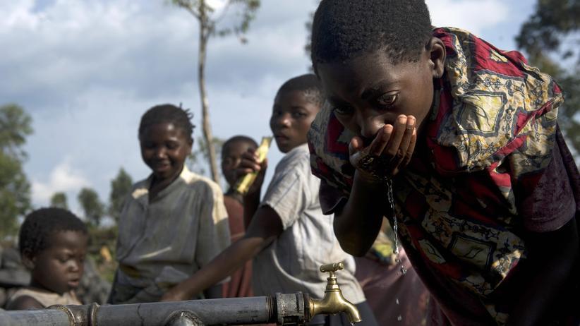 Klimawandel: Flüchtlinge im Camp Kibati, im Norden der Demokratischen Republik Kongo.