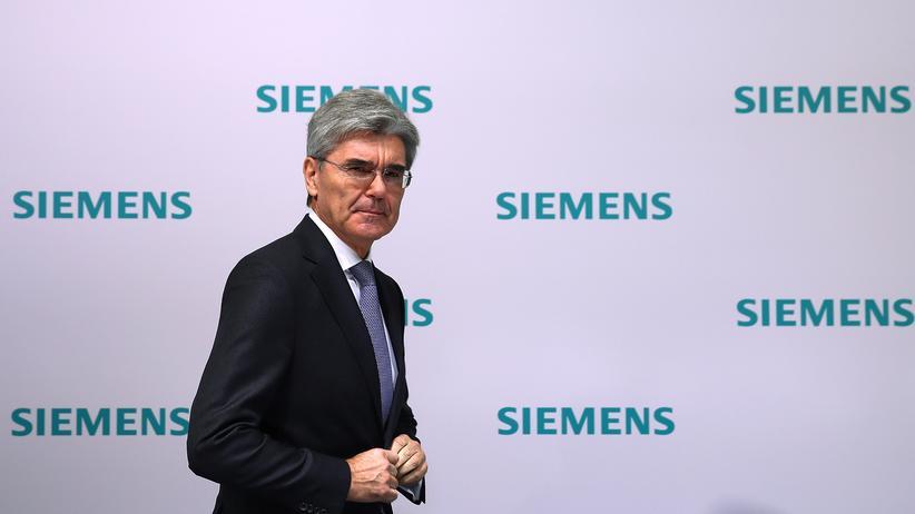 Siemens-Konzernchef Joe Kaeser