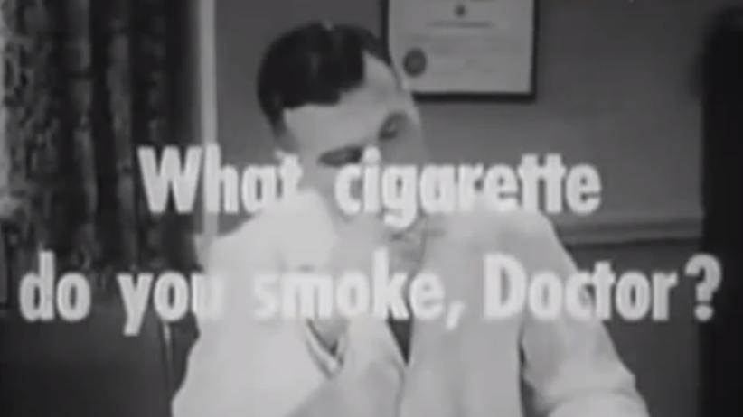 """Tabakindustrie: """"Rauchen ist ungesund"""", sagt der Marlboro-Mann"""