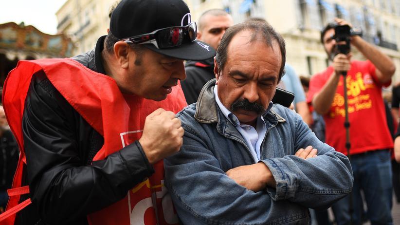 """Philippe Martinez: """"Es gibt ganz klar einen Klassenkampf"""""""