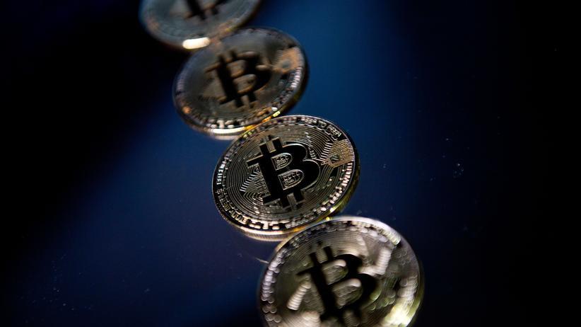 Kryptowährungen: Bitcoin-Münzen als Souvenir