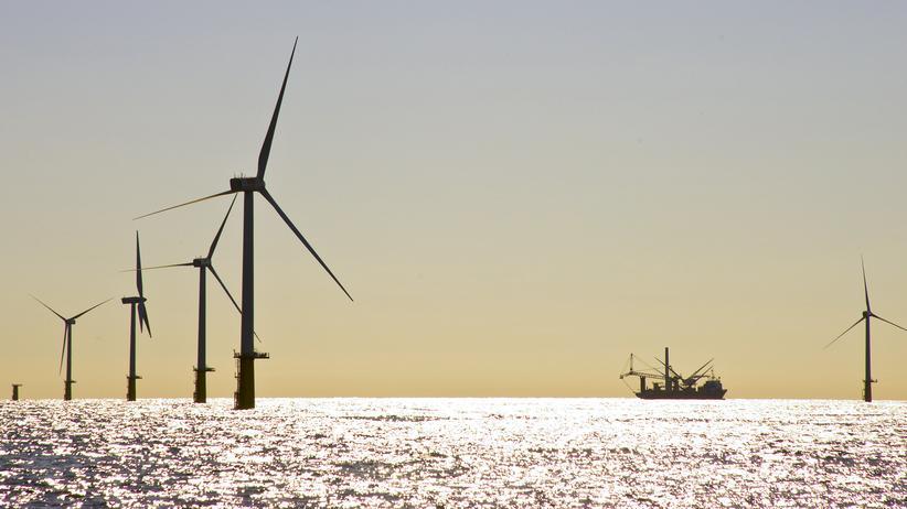 Nachhaltigkeit: Offshore-Windpark IJmuiden/Niederlande (Archiv)