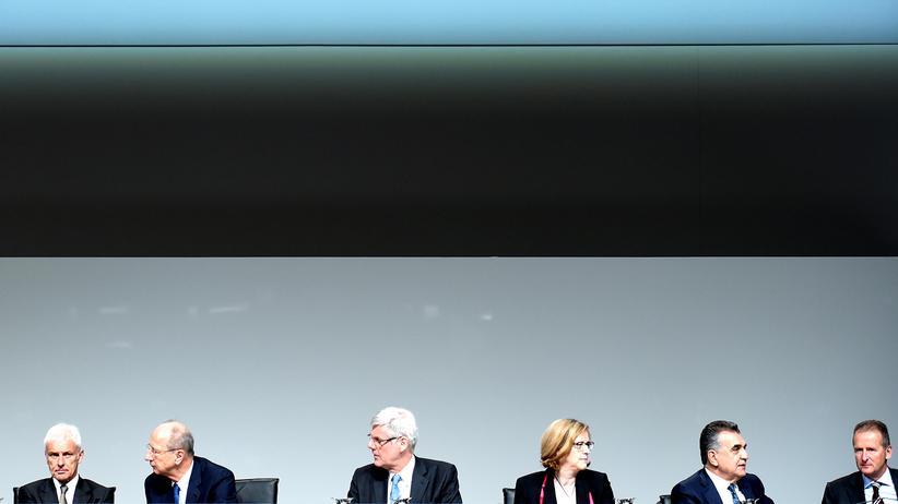 Frauenquote: Die VW-Führung in Hannover