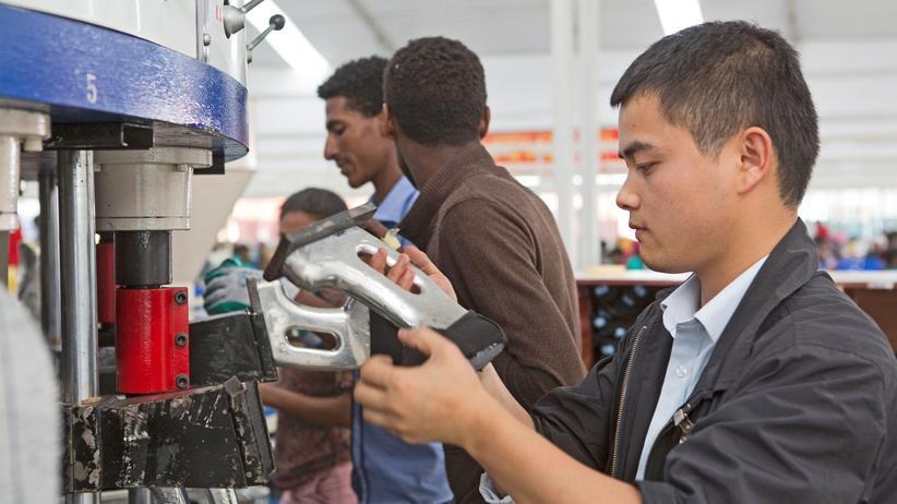 China: Fingerspitzengefühl für Afrika