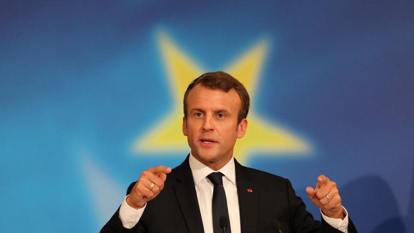 EU-Reform: Frankreichs Präsident Emmanuel Macron hat mit seiner Europarede an der Pariser Sorbonne im September 2017 international für Aufmerksamkeit gesorgt.