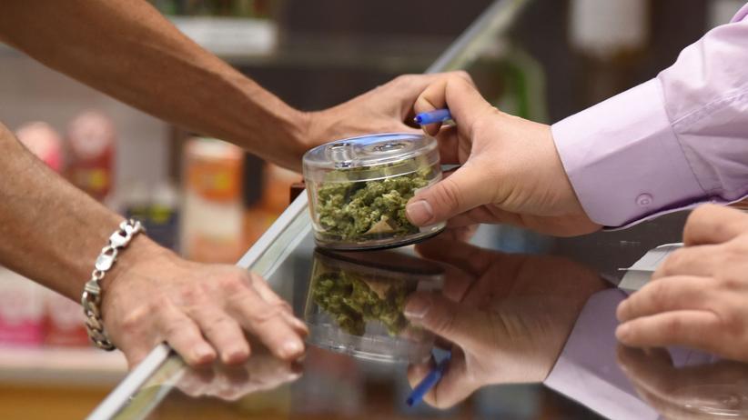 Cannabis: Marihuana-Verkauf im kalifornischen Desert Hot Springs