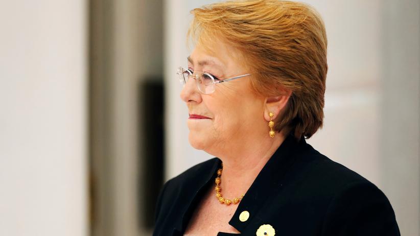 Wirtschafts-Index: Die chilenische Präsidentin Michelle Bachelet bei einem Treffen der Asiatisch-Pazifischen Wirtschaftsgemeinschaft in Danang, Vietnam