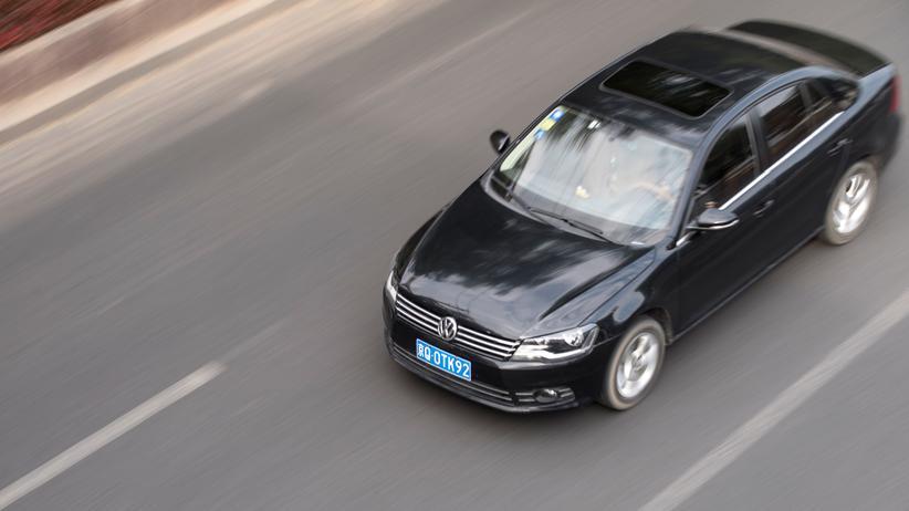 Verkaufsrekord: In China sind VW-Modelle beliebt
