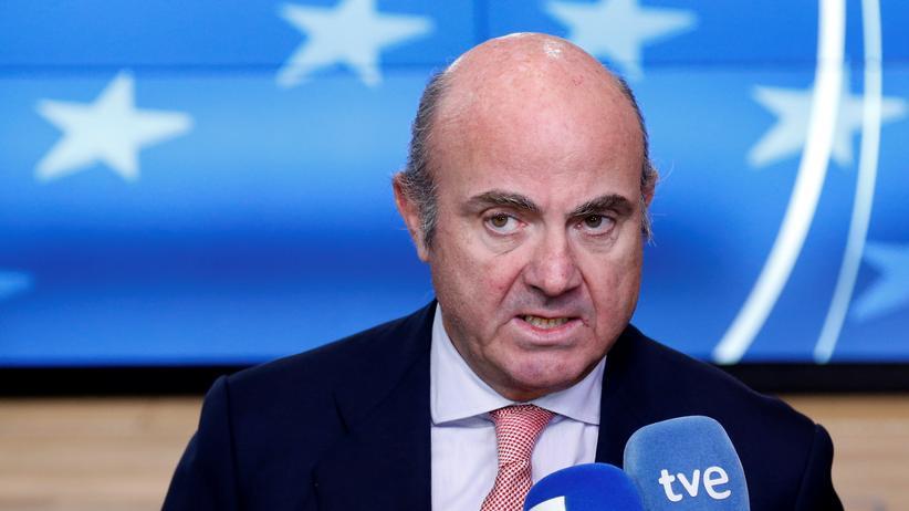 Europäische Zentralbank: Der spanische Wirtschaftsminister Luis de Guindos soll neuer EZB-Vizepräsident werden.