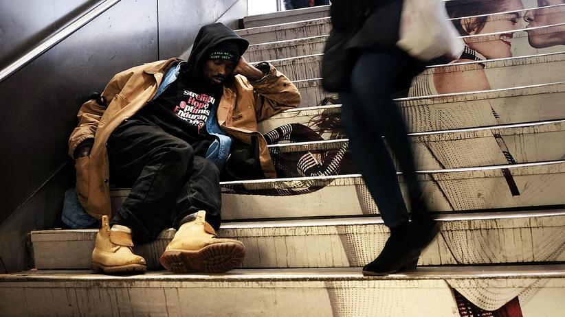 Branko Milanović: Ein Obdachloser in New York, USA