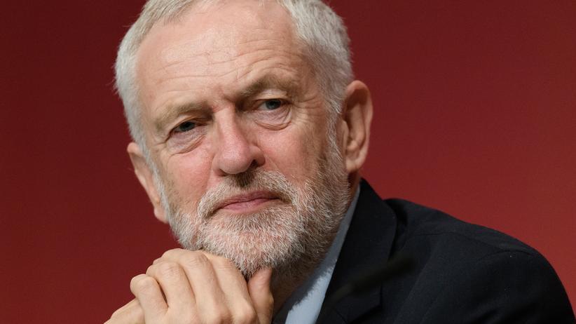 Jeremy Corbyn: Jeremy Corbyn auf einem Treffen der Labour-Partei in Brighton, im vergangenen September