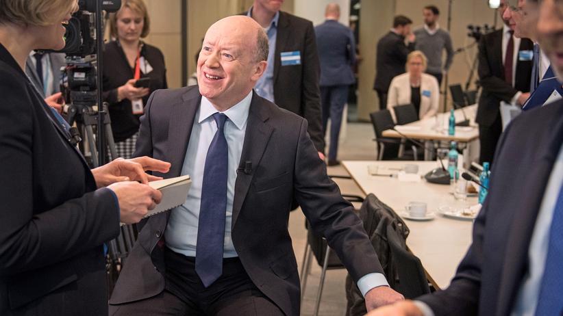 Bonuszahlungen: John Cryan, CEO der Deutschen Bank
