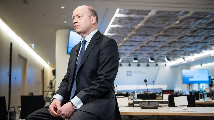 John Cryan, CEO der Deutschen Bank