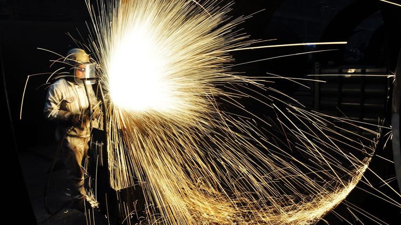 China und USA: China ist von den Importzöllen der US-Regierung kaum betroffen, es rangiert auf Platz zehn der größten Stahlexporteure in die USA.