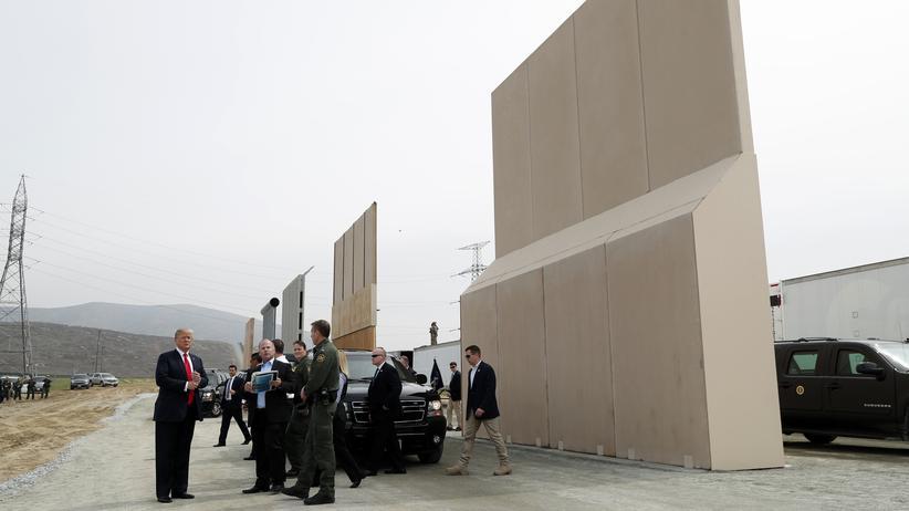US-Grenze: Auf seiner Ranch soll niemand mehr sterben