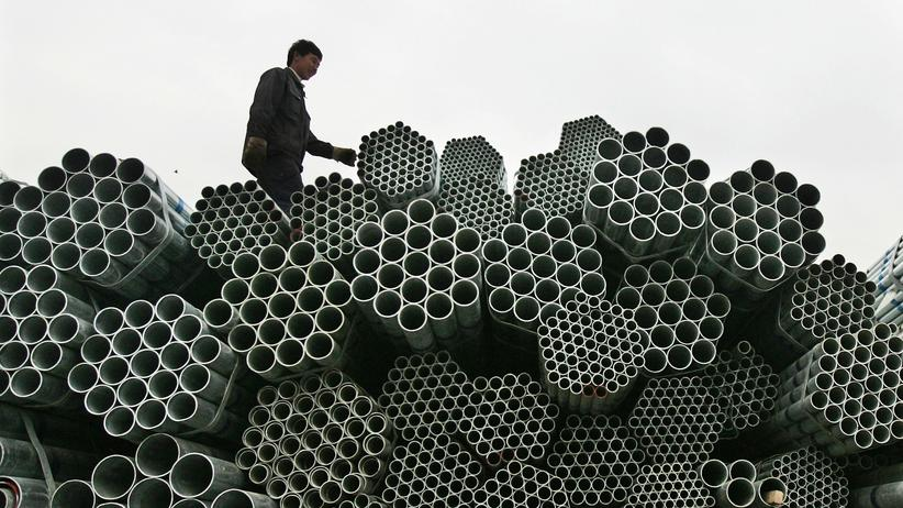 US-Handelsstreit: Viel zu viel Stahl