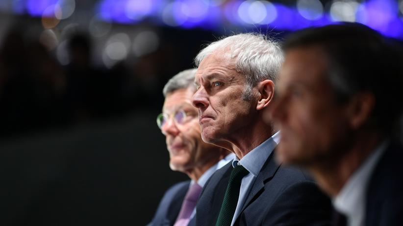 Vorstandsumbau bei VW: Was wird aus Matthias Müller?