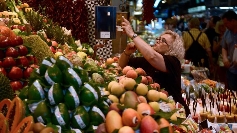 Verbraucherpreise: Inflationsrate in der Eurozone gesunken