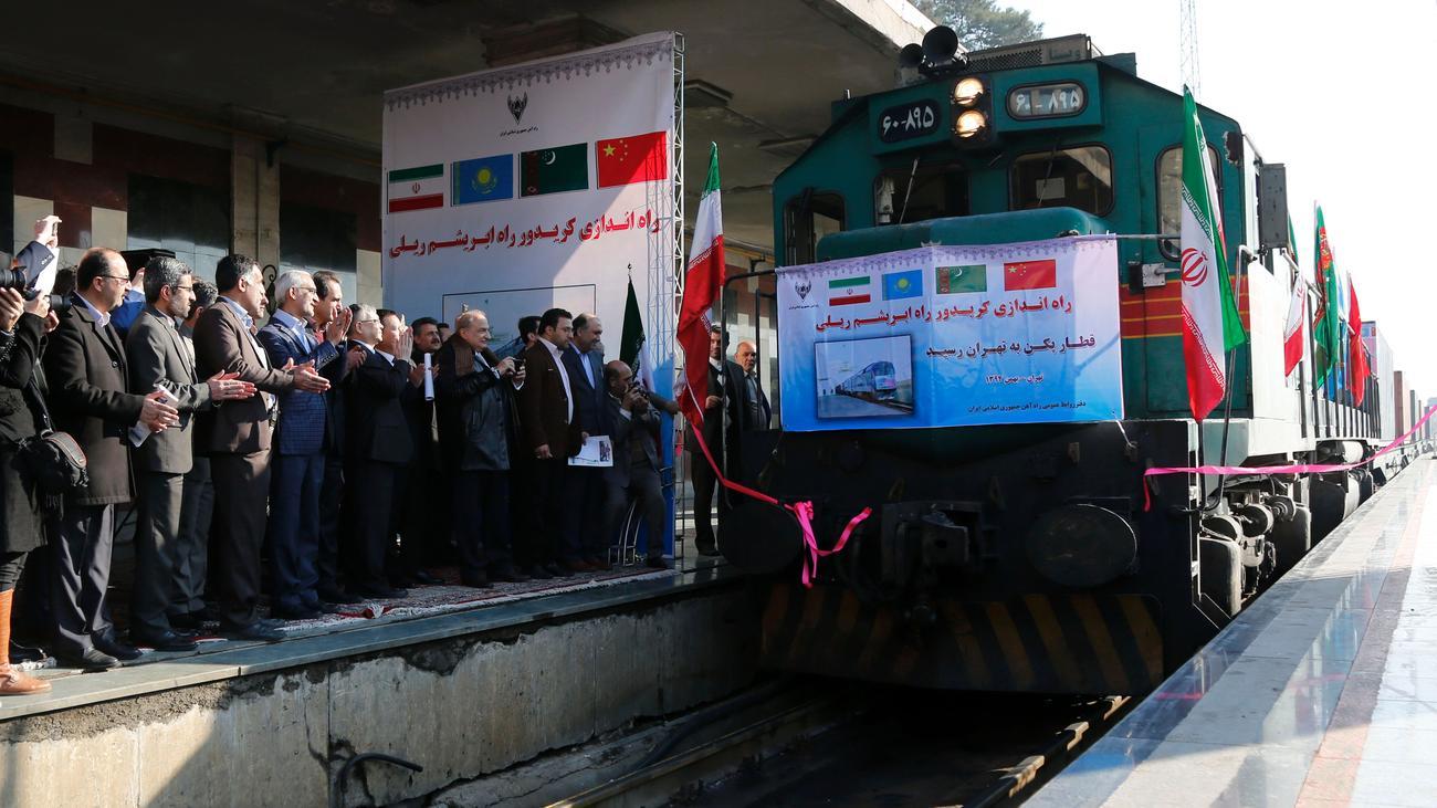 Neue Seidenstraße: China eröffnet Zugverbindung in den Iran