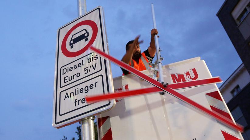 Dieselfahrverbot: Schlechte Luft in deutschen Städten