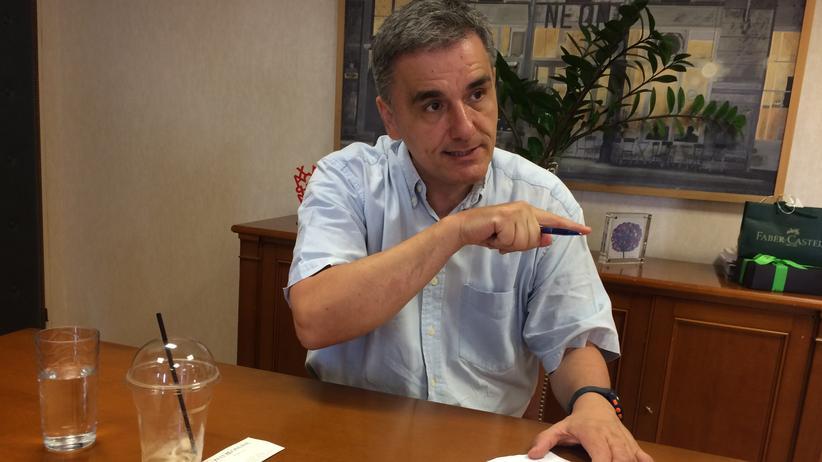 Griechenland: Der griechische Finanzminister Euklid Tsakalotos gilt als überzeugter linker Ökonom.