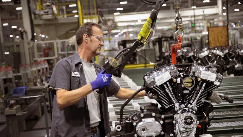 Handelsstreit: Harley-Davidson verlagert Teile der Produktion ins Ausland