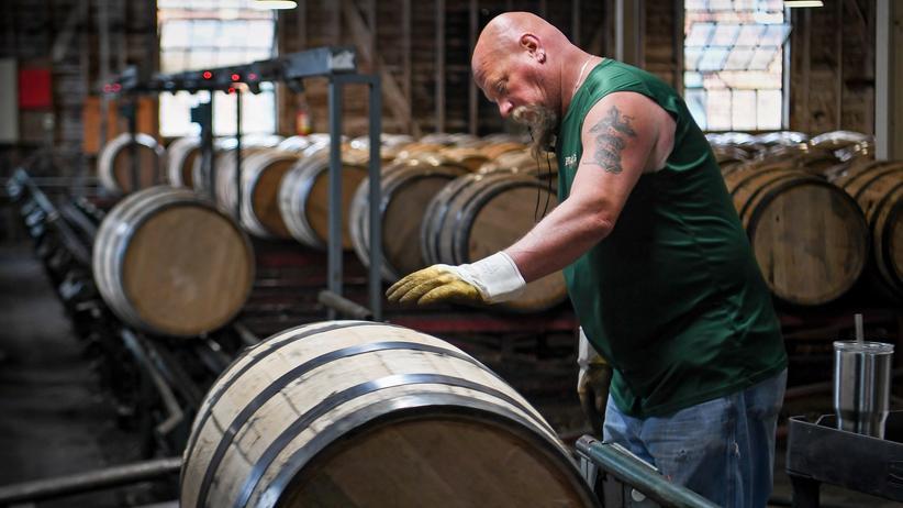 Zollstreit: China hat unter anderem US-amerikanischen Whisky mit Strafzöllen belegt.