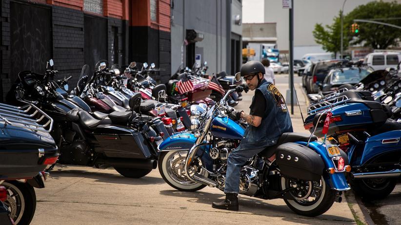 Donald Trump: Für den Motorradhersteller Harley Davidson ist der Handelsstreit zwischen den USA und der EU gefährlich.