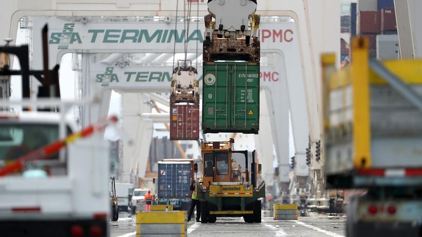 Importzölle: Der Handel zwischen China und den USA könnte deutlich zurückgehen.