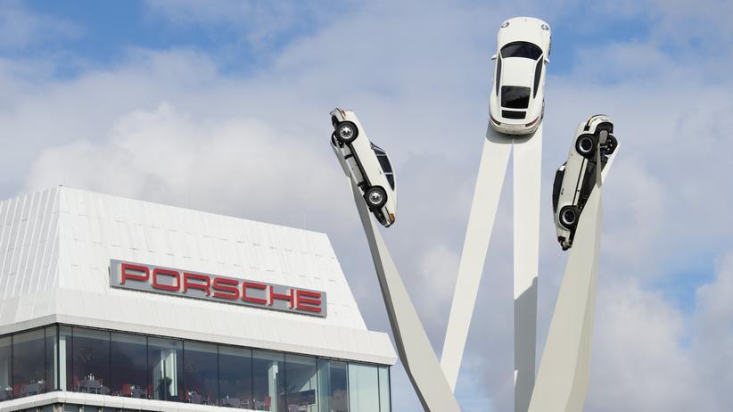 Abgasskandal: Das Porsche-Hauptquartier in Stuttgart